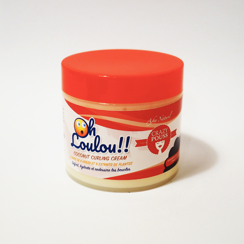 Crazy Pouss - Oh Loulou - Cocounut Curling Cream