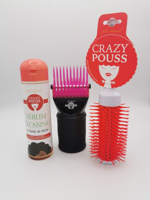 Crazy Pouss - Pack Brushing Cheveux Afro